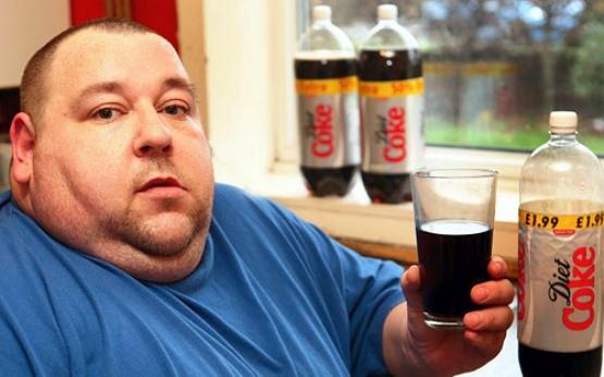Ожирение от газированных напитков
