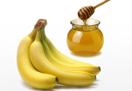 Бананы с медом от кашля