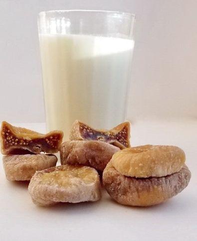 Инжир с молоком от кашля - вкусное лекарство для детей и взрослых