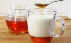 Молоко с медом и содой от кашля рецепт