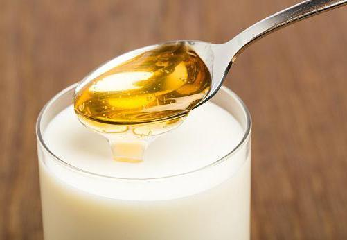 Молоко с мёдом и содой от кашля