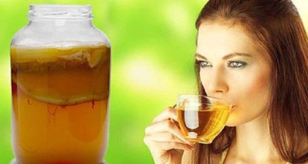 польза чайного гриба для женщин