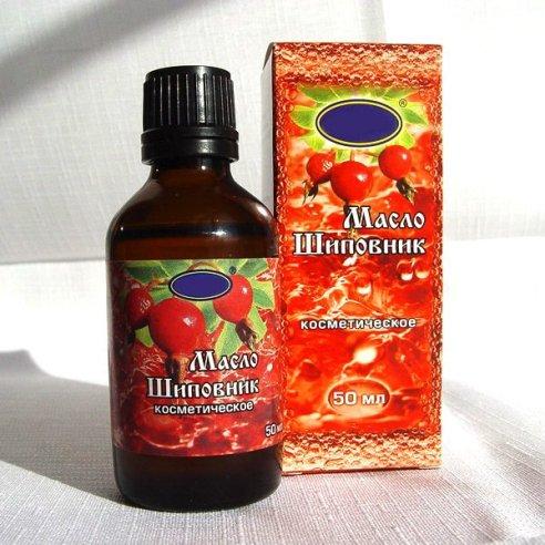 Польза масла плодов шиповника