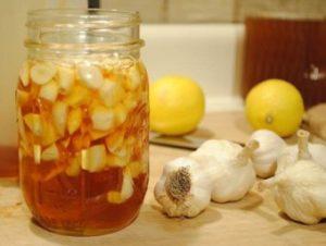 Чеснок с лимоном и мёдом для очистки сосудов - рецепт