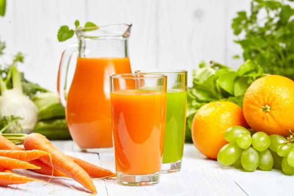 Морковно-апельсиновый сок