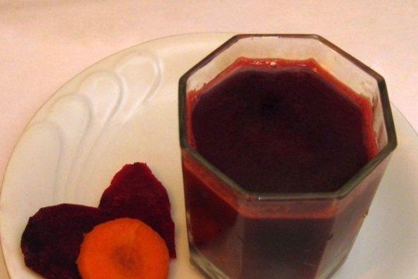 Морковно-свекольный сок - польза и вред