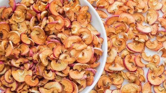 Как приготовить сушеные яблоки в домашних условиях