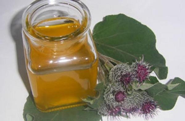 Масло лопуха (репейное масло)