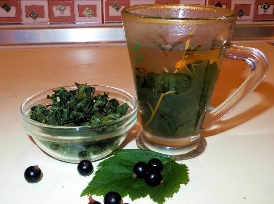 Чай зимний (из сушеных листьев)
