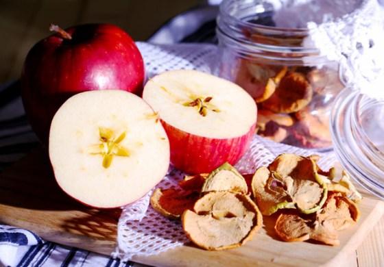 Сушеные яблоки для детей