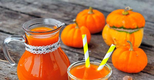 Состав сока тыквы, калорийность