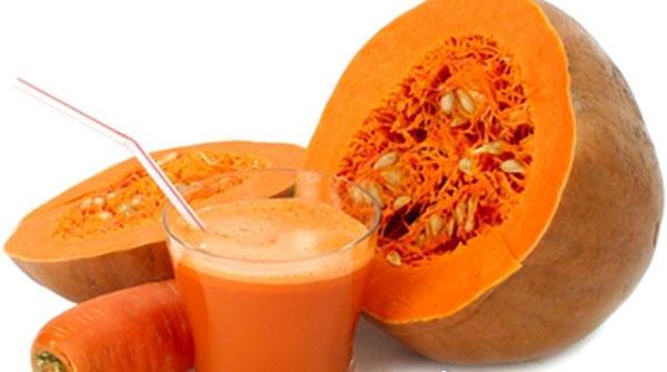 Морковно-тыквенный сок