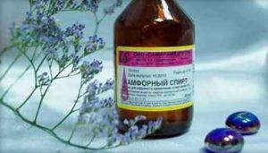 Спирт камфорный — применение, свойства противоспалительного средства