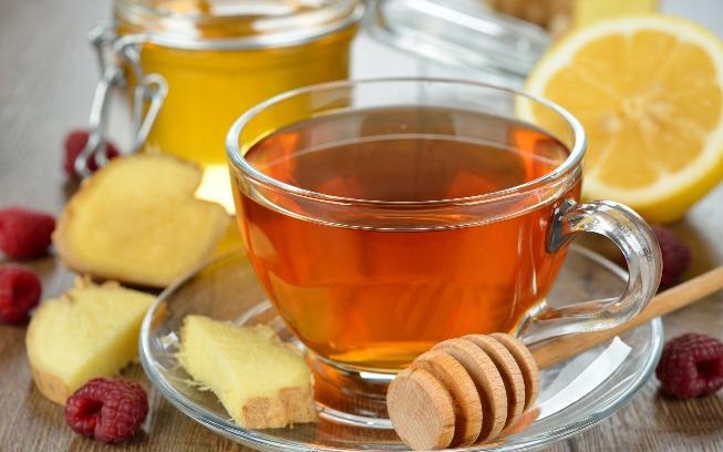 Состав, калорийность чая с имбирем