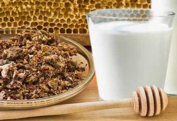 Молоко с медом и прополисом на ночь польза и вред