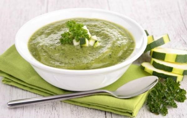 Протертый суп из кабачков (с 8 месяцев)