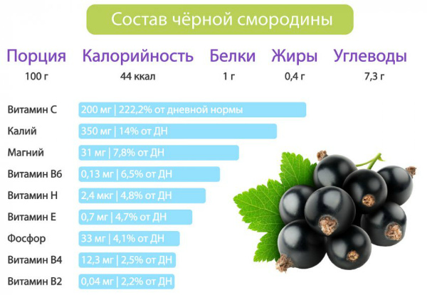 Химический состав и калорийность